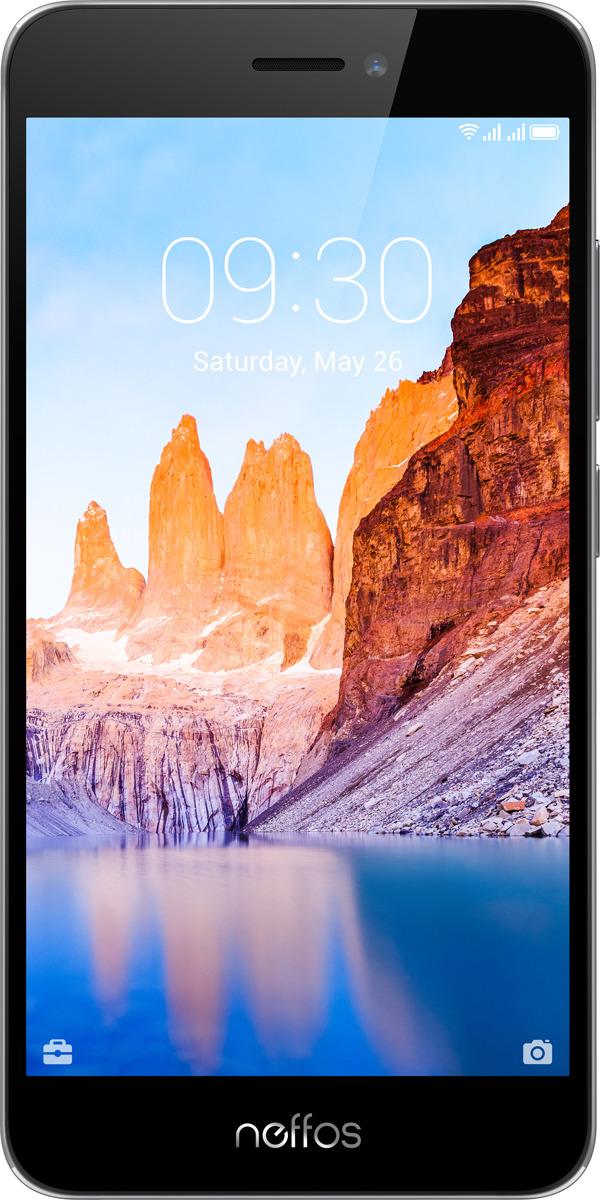 Смартфон Neffos C7A 2/16GB gray
