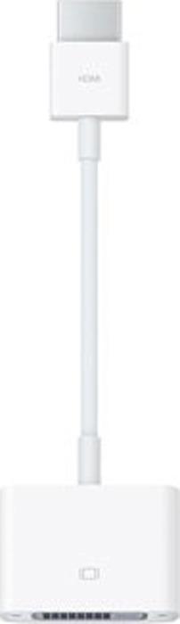Адаптер Apple HDMI to DVI Adapter Cable, белый аксессуар apple hdmi to dvi adapter mjvu2zm a