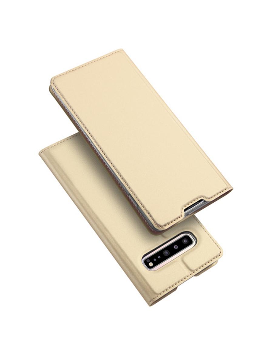 Чехол для сотового телефона DUX DUCIS Samsung Galaxy S10 Plus, золотой