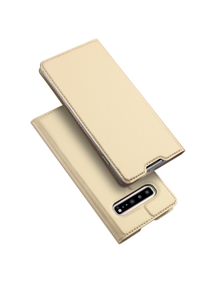 Чехол для сотового телефона DUX DUCIS Samsung Galaxy S10, золотой
