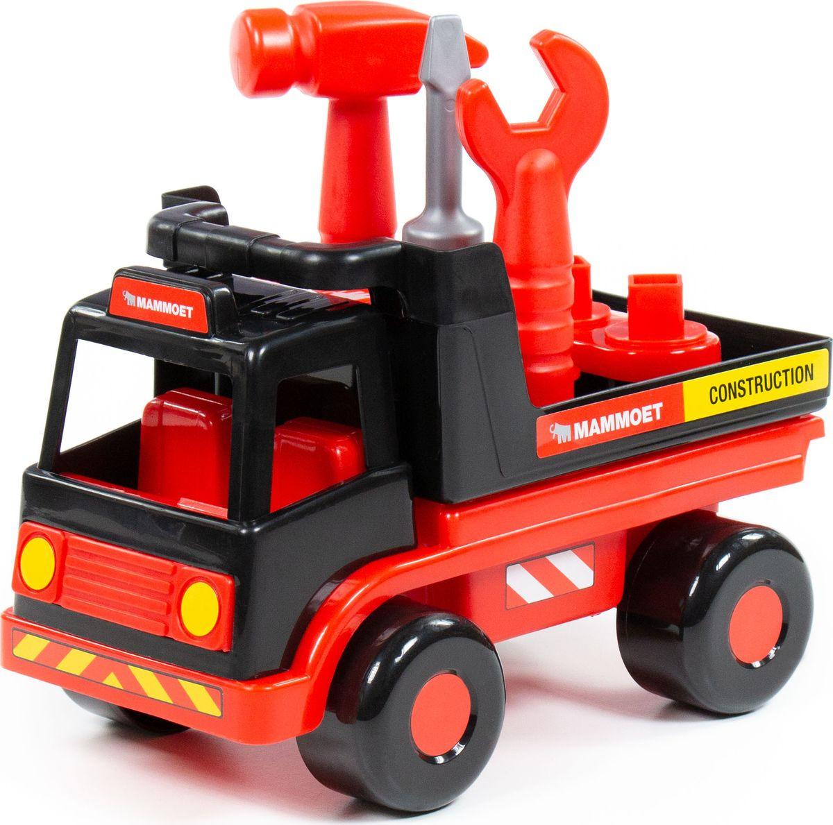 Машинка Полесье Mammoet Техпомощь, 77363 автомобиль пожарный полесье volvo в сеточке 8787
