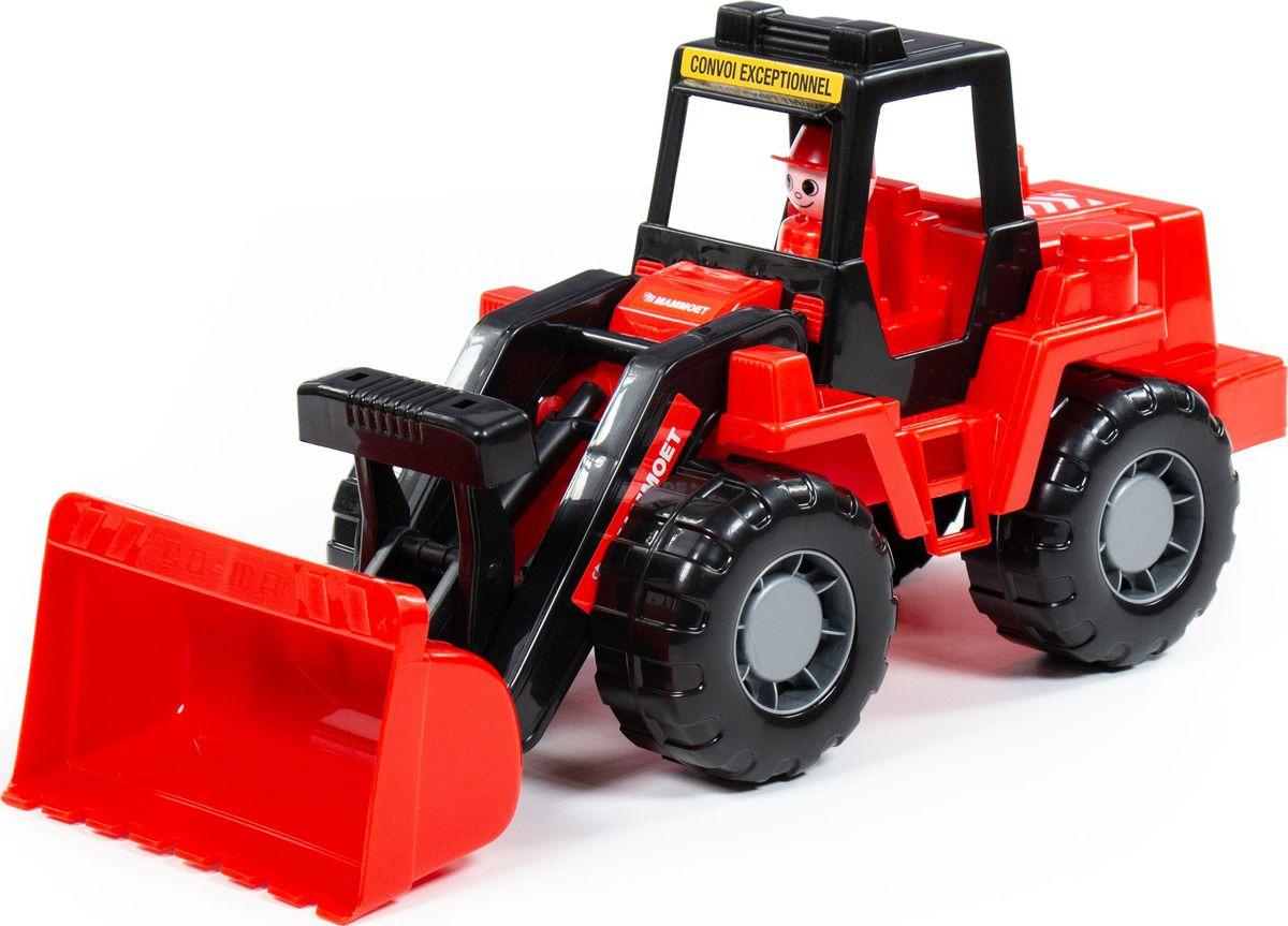 Трактор-погрузчик Полесье Mammoet Техник, 77332 трактор полесье трактор погрузчик умелец оранжевый 159238