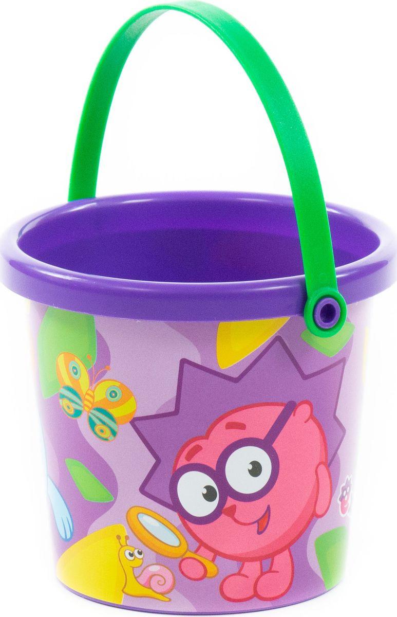 Фото - Игрушка для песочницы Полесье Ведро малое с наклейкой Смешарики, 76779, цвет в ассортименте полесье набор игрушек для песочницы 468 цвет в ассортименте