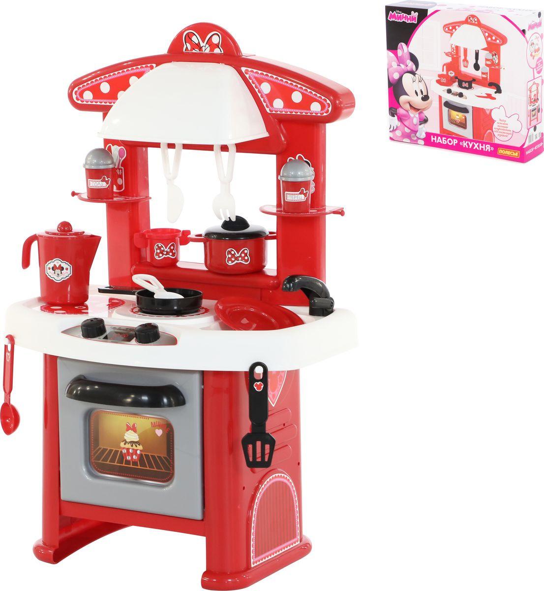 цена Игровой набор Полесье Кухня Disney Минни Маус, 73150 онлайн в 2017 году