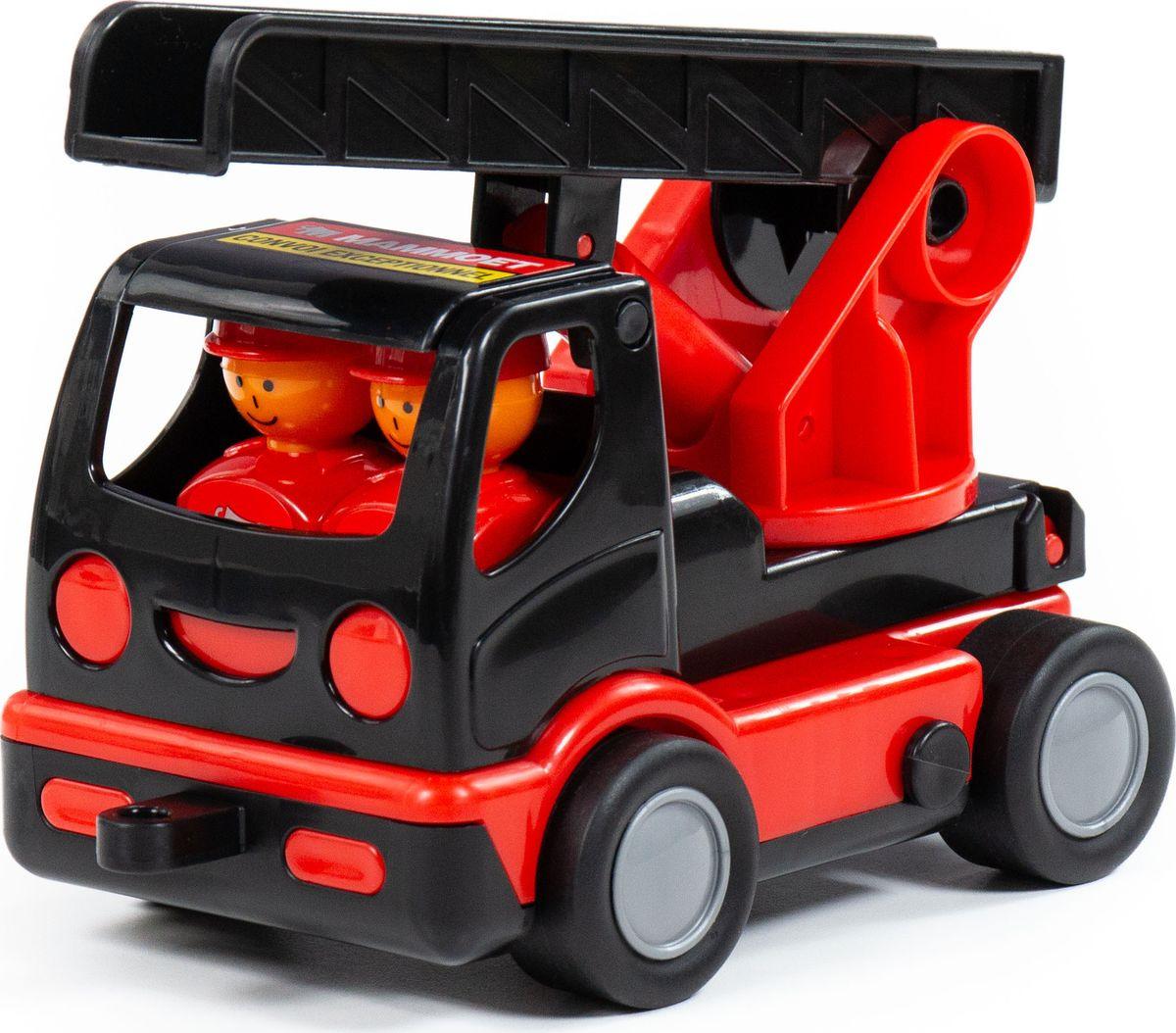Машинка Полесье Mammoet Мой первый пожарный, 77356 автомобиль пожарный полесье мой первый грузовик в сеточке 3225