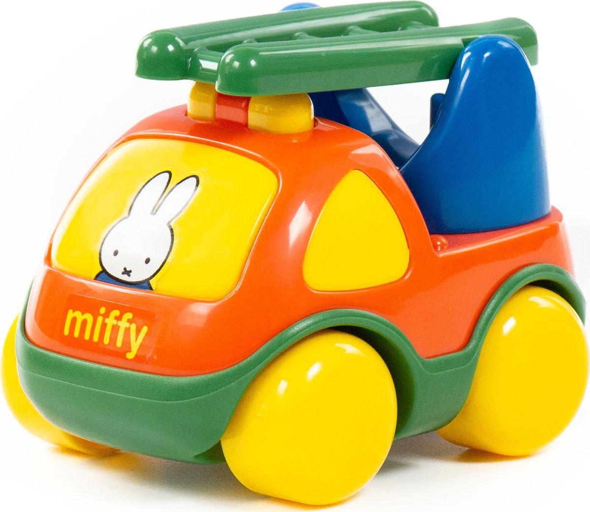 Пожарная спецмашина Полесье Миффи №1, 77417 автомобиль коммунальная спецмашина полесье кнопик красная кабина