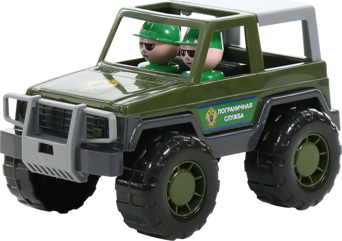 Машинка Полесье Джип пограничный Вояж, 76342 туртранс вояж