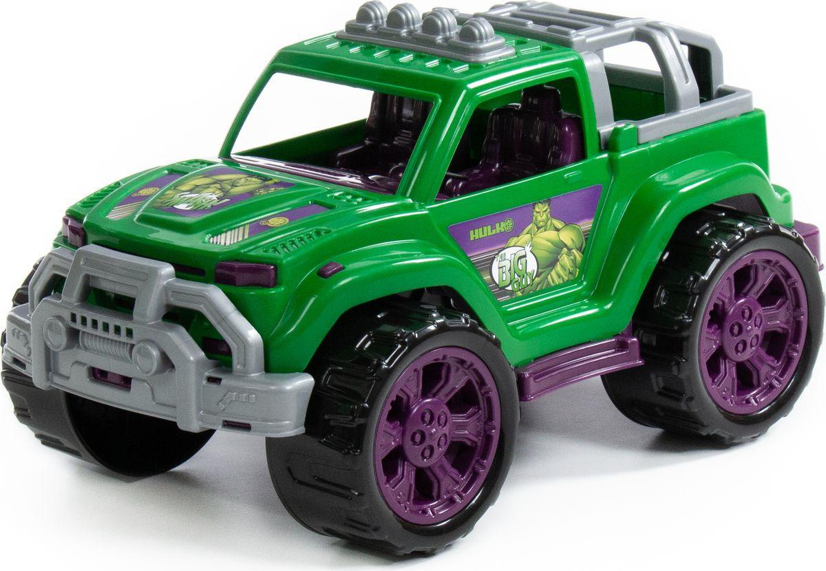 Машинка Полесье Джип Marvel Мстители Халк, 77141 все цены