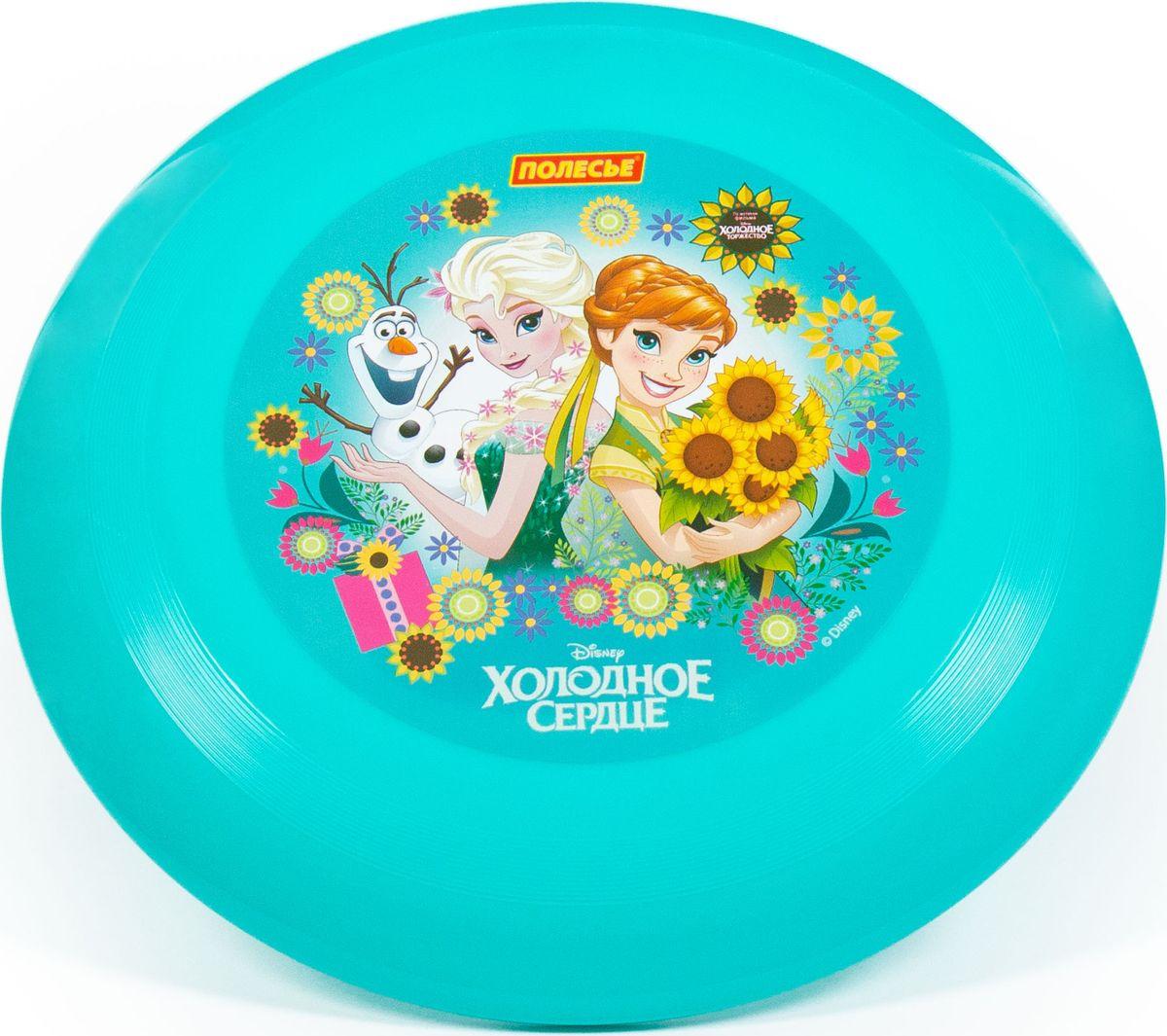 Игровой набор Полесье Летающая тарелка Disney Холодное сердце, 77806
