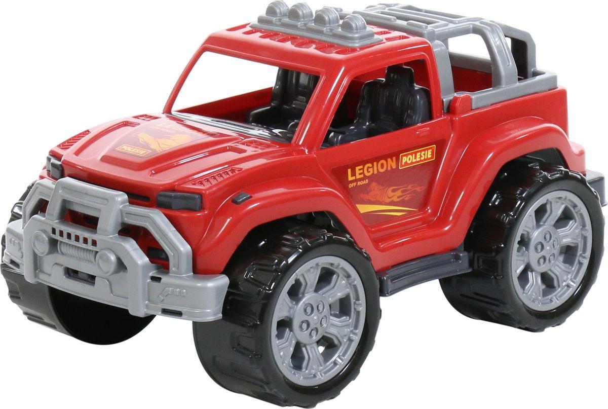 Машинка Полесье Легион №2, 76113, красный