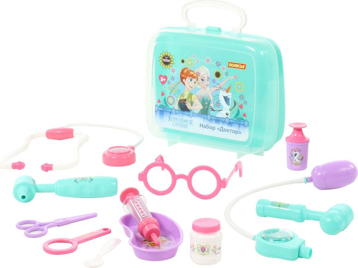 Игровой набор Полесье Доктор Disney Холодное сердце, 73204 1 toy детский игровой набор доктор арт т56708