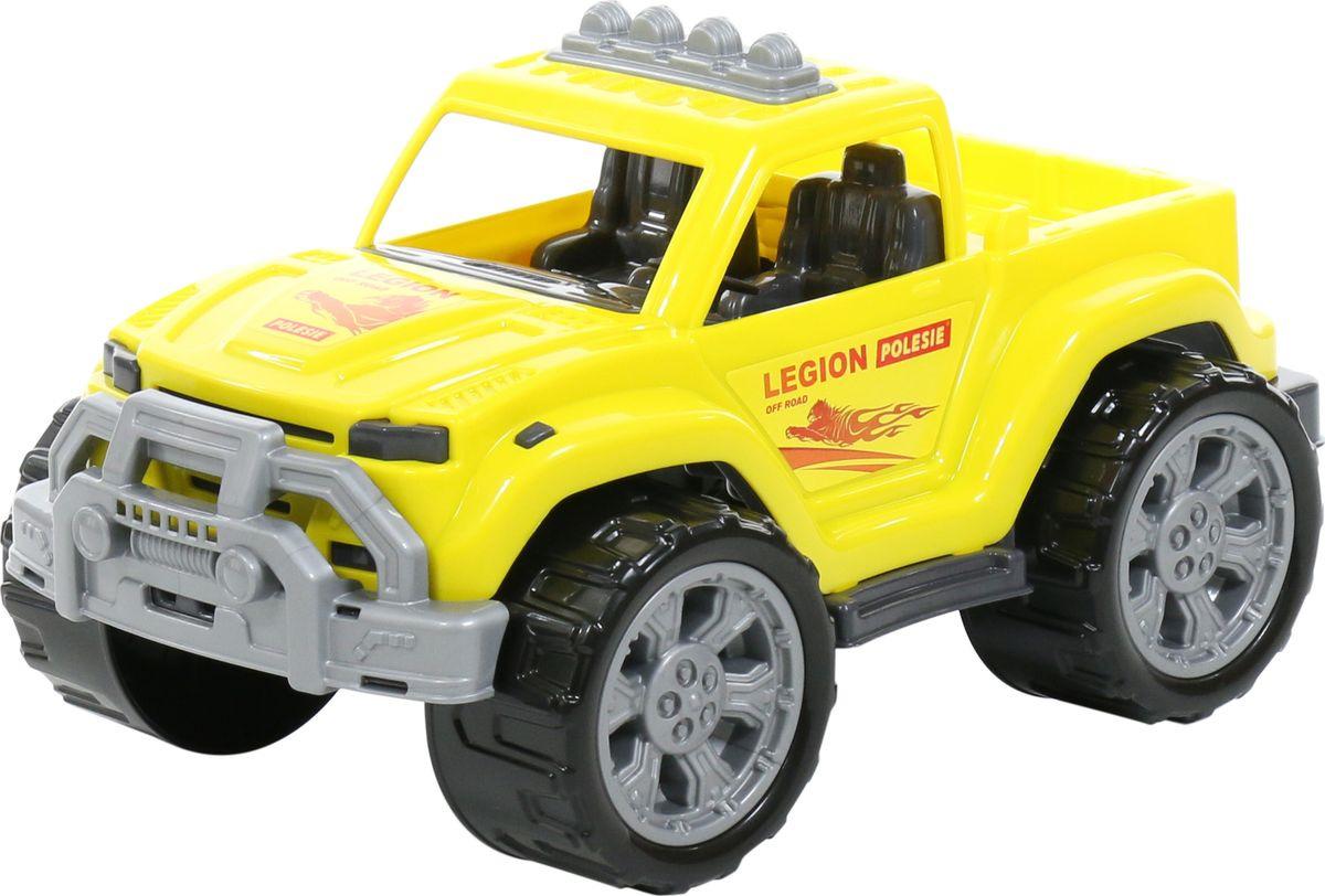 Машинка Полесье Легион №1, 76045, желтый биккузин урал легион