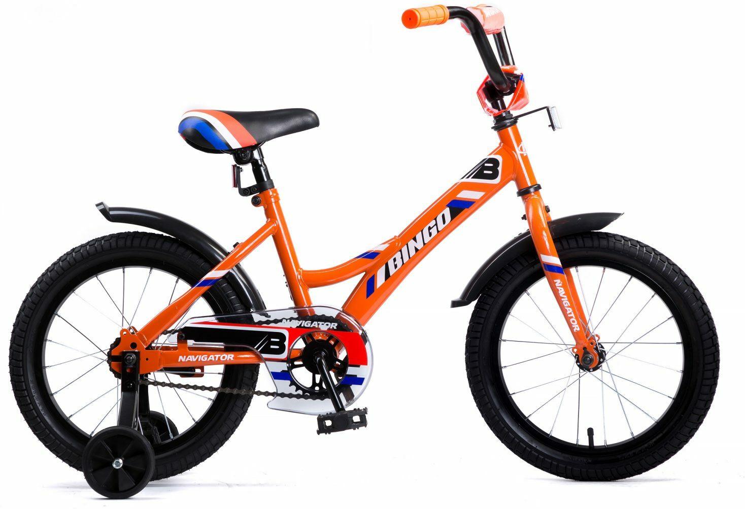 Велосипед детский Navigator Bingo, ВМ16153, разноцветный, колесо 16