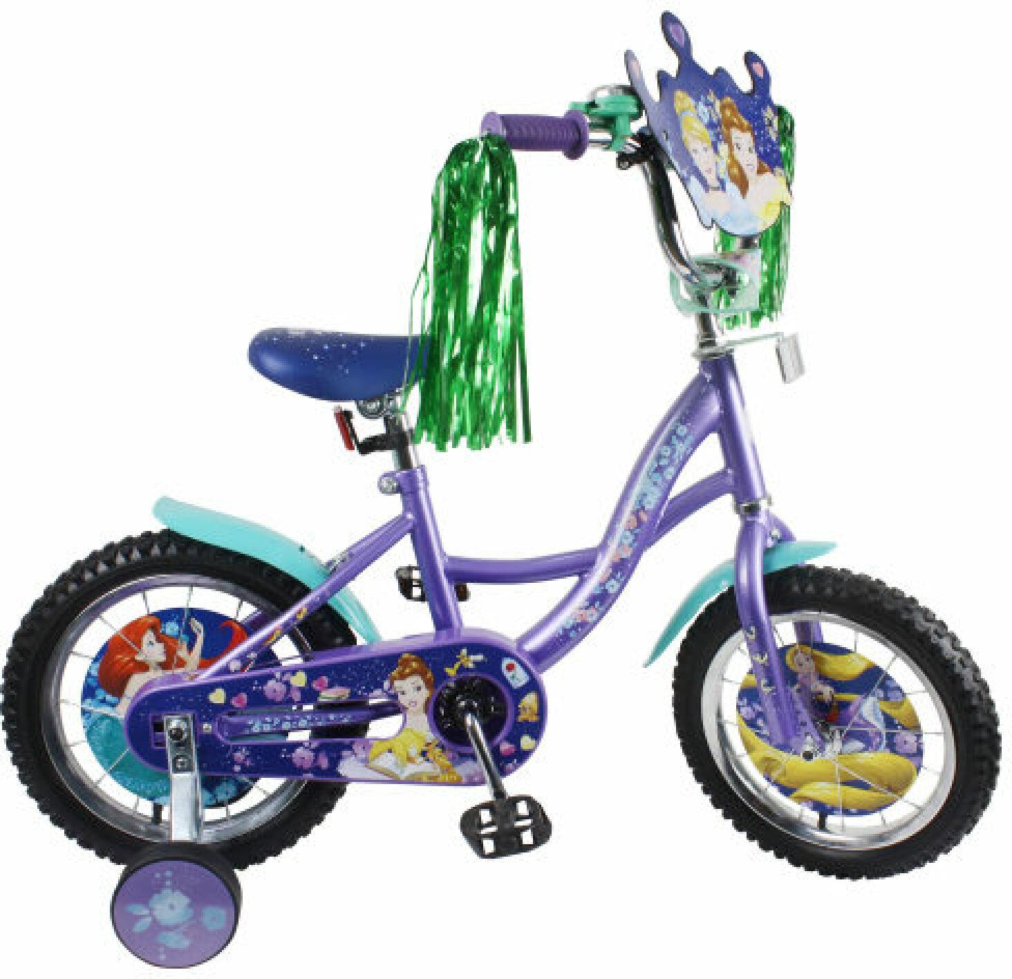 Велосипед детский Disney Принцессы, ВН14165, разноцветный, колесо 14