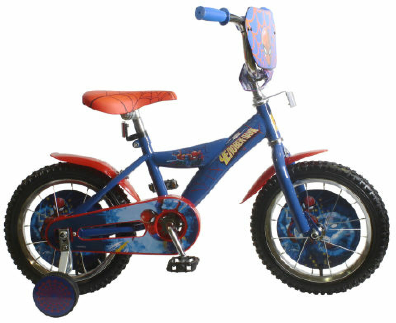 Велосипед детский Marvel Человек-Паук, ВН14170, разноцветный, колесо 14 велосипед для малышей 3 5 лет 14 500 робот