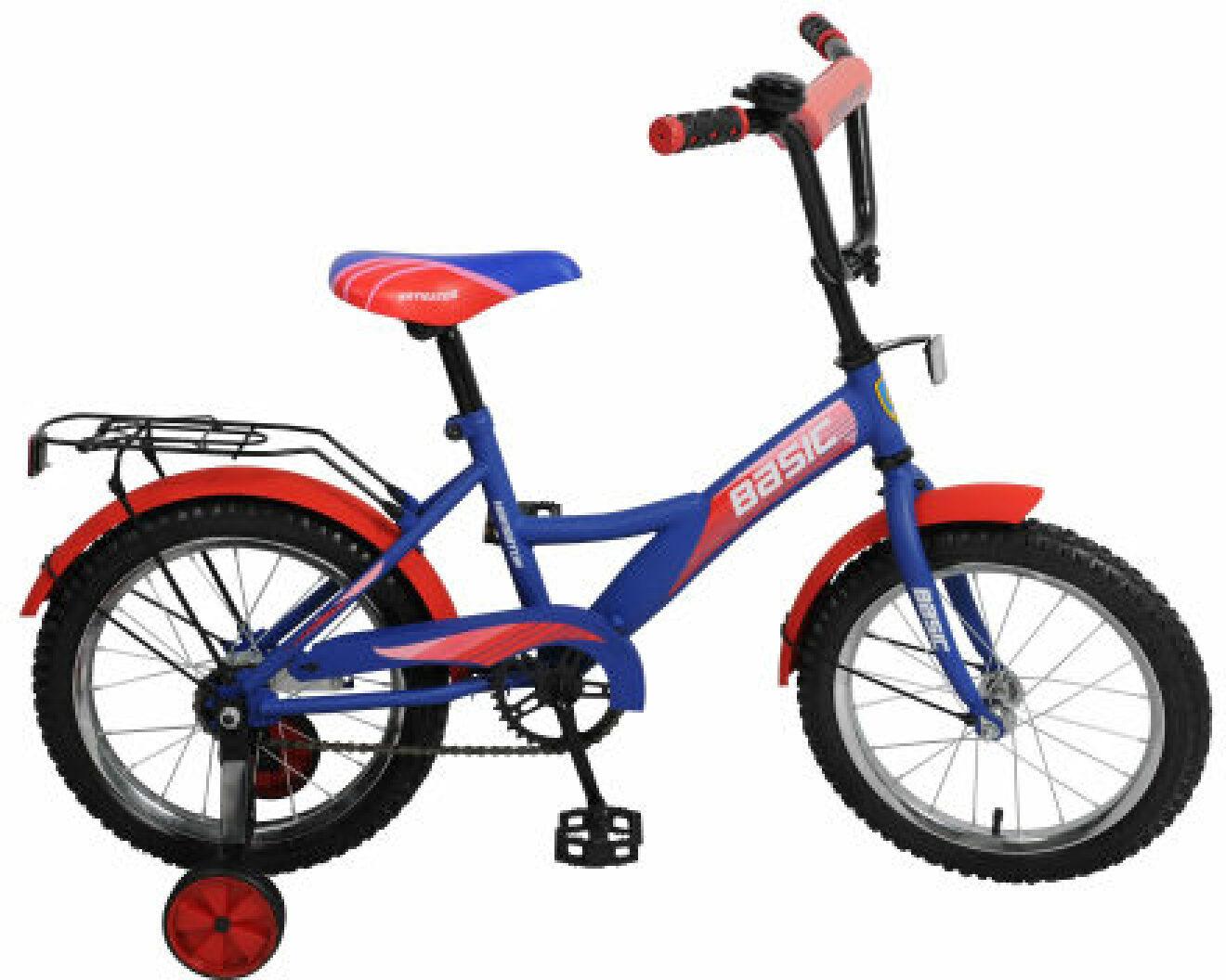 Велосипед детский Navigator Basic, ВН16104Н, разноцветный, колесо 16