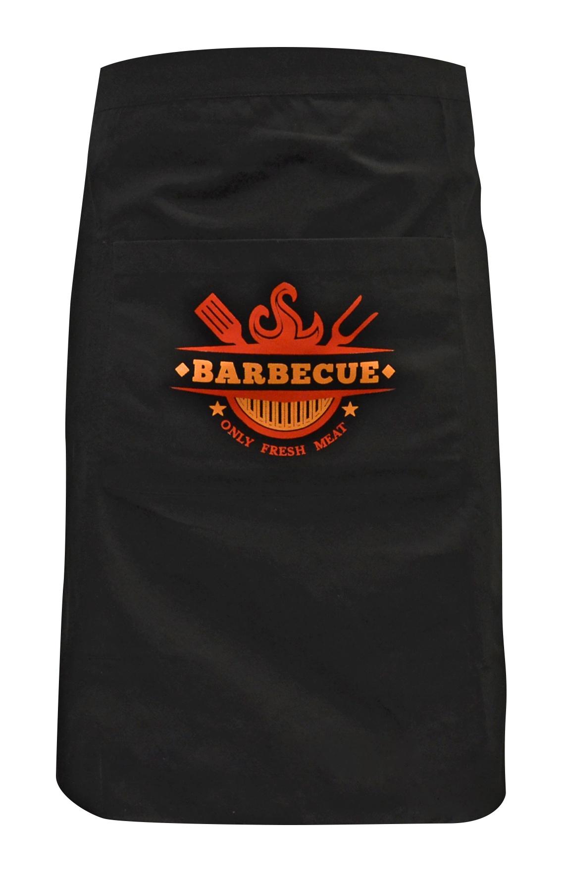 Набор для барбекю Коллекция Фартук-передник, черный