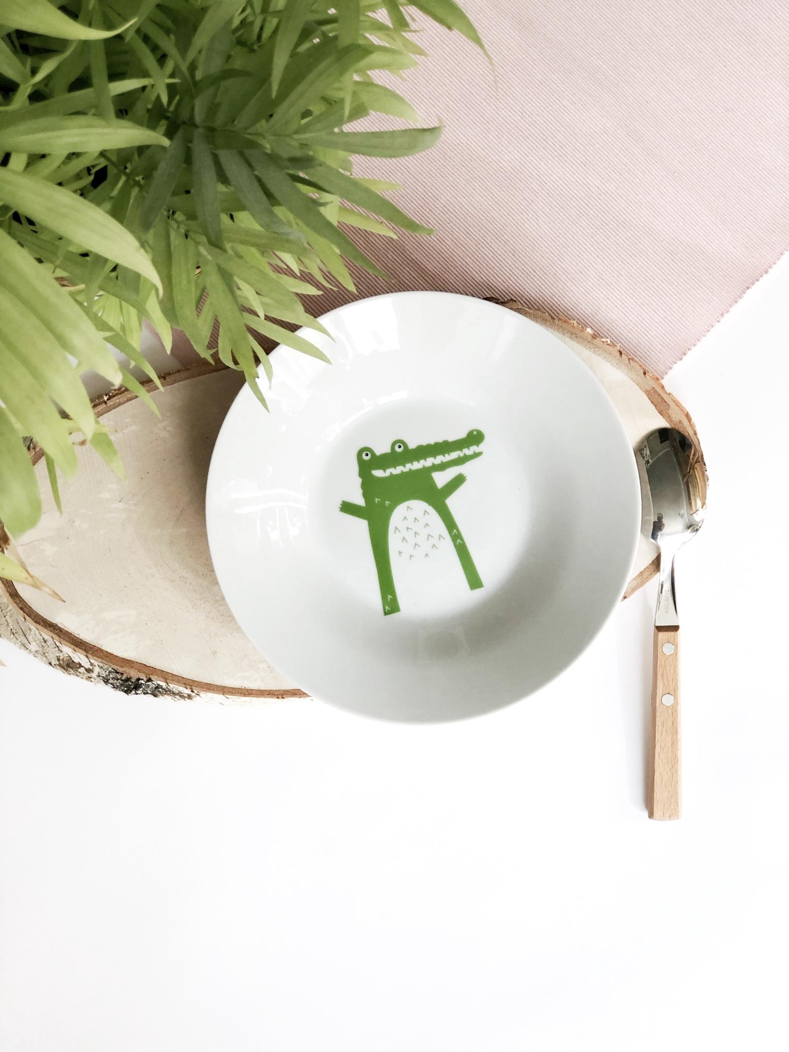 Тарелка глубокая Сотвори Чудо Крок 20 см, белый тарелка мелкая сотвори чудо бантик sans brides диаметр 20 см