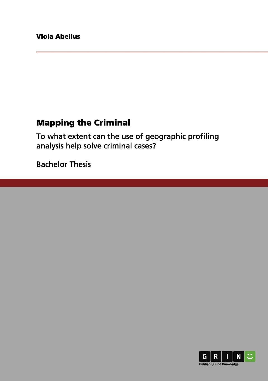цены на Viola Abelius Mapping the Criminal  в интернет-магазинах