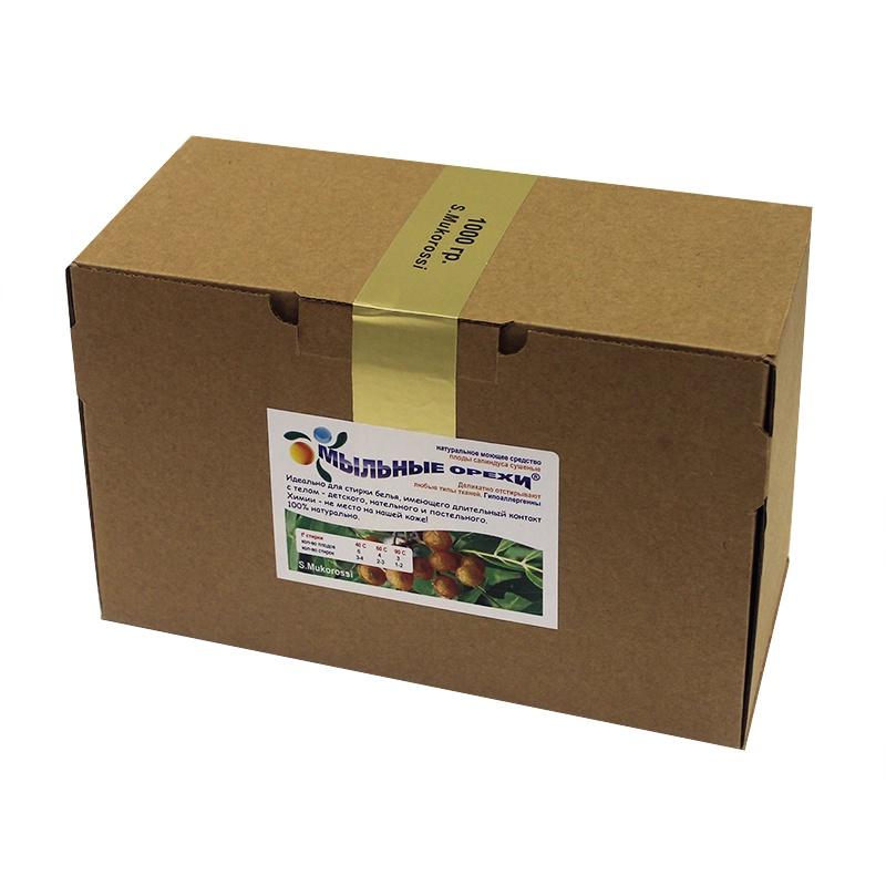 Мыло для стирки Мыльные Орехи натуральное средство для стирки любых тканей, 1000 гр.