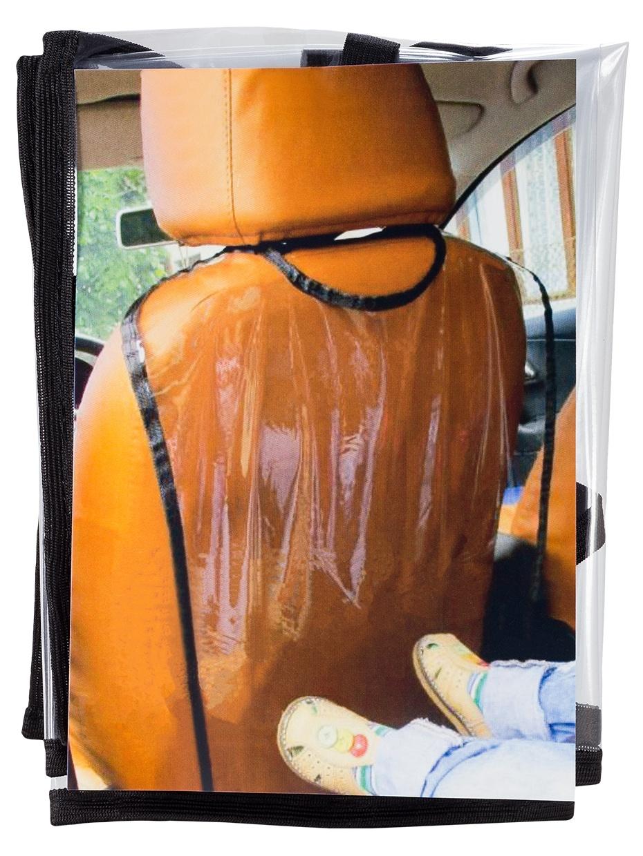 Накидка на сиденье А032 защитная накидка под бустер смешарики цвет серый красный