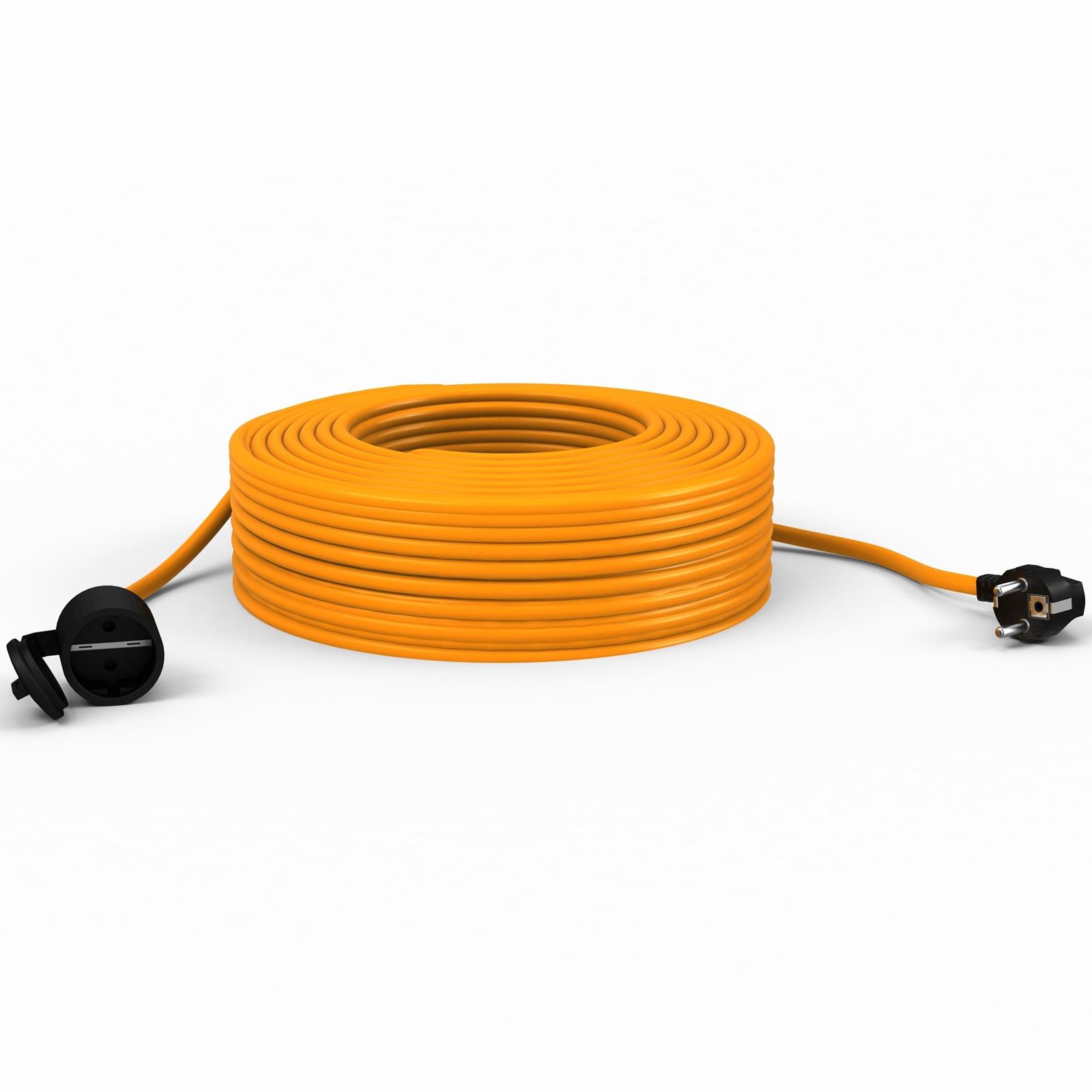 Удлинитель Партнер-Электро ПВС 2х1 ГОСТ,10A,40 метров,IP 44., оранжевый