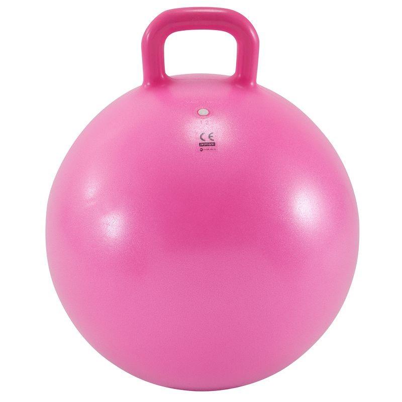 Мяч гимнастический HKGB107 45 см. с ручкой розовый спот laura led 17942 10 30