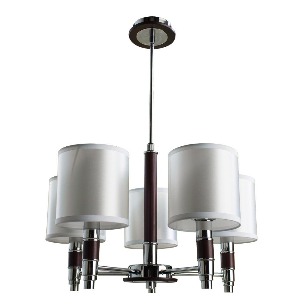 цена на Подвесной светильник Arte Lamp A9519LM-5BR, коричневый