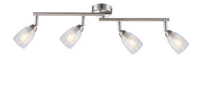 Настенно-потолочный светильник Globo 56023-4, LED, 3 Вт globo спот globo crash 56023 2