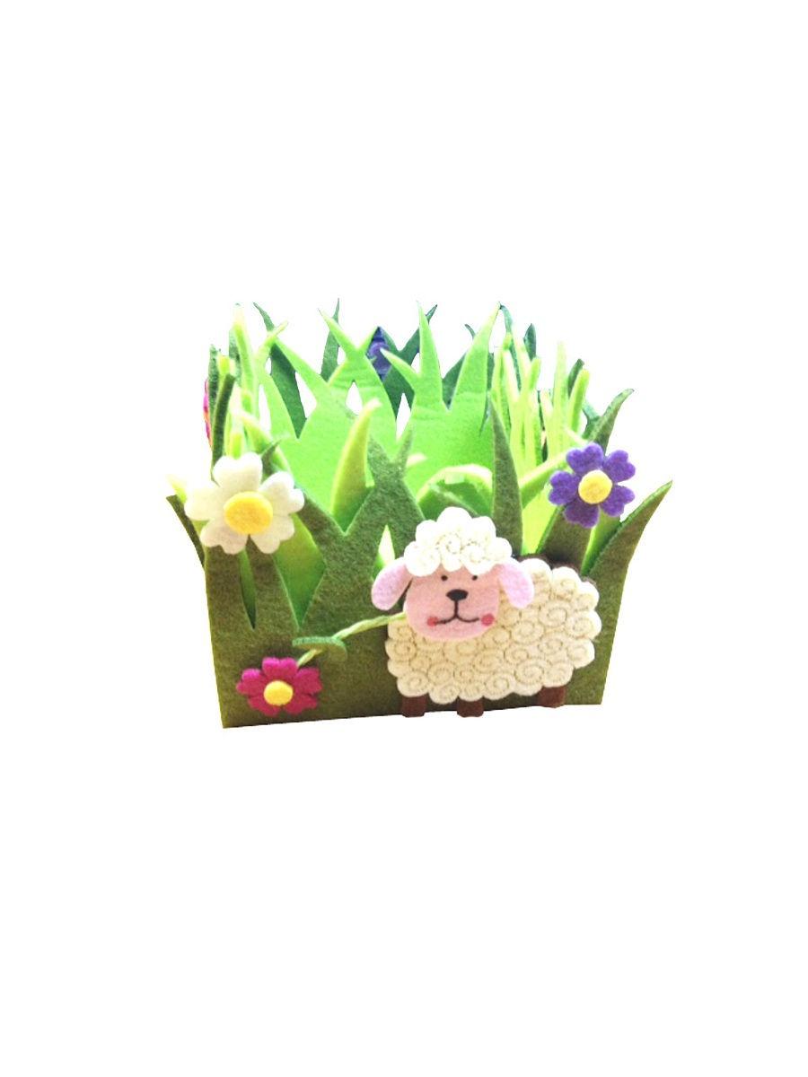 Корзинка Карамба 002532, Искусственный войлок микки баскет расписываем цветочные горшки