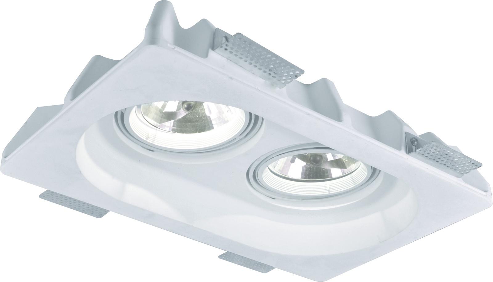 Встраиваемый светильник Arte Lamp A9270PL-2WH, GU5.3, 50 Вт цены