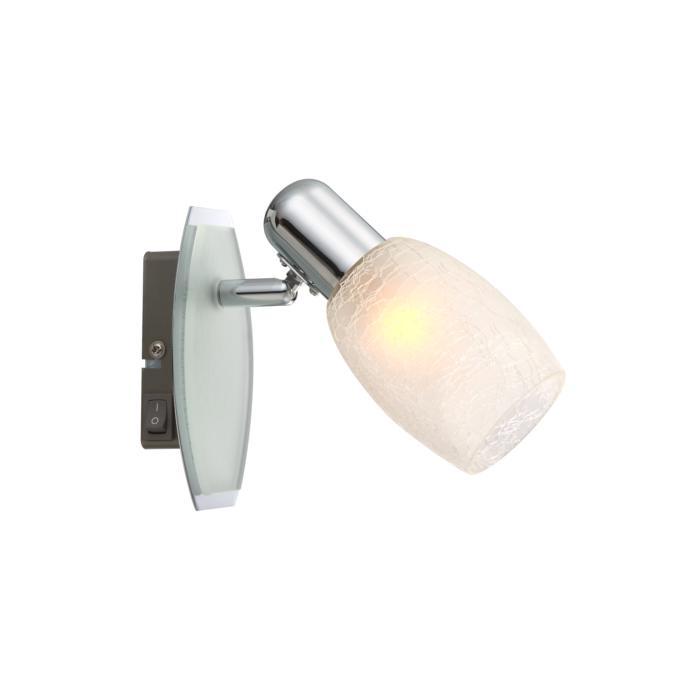 Настенно-потолочный светильник Globo New 54917-1, серый металлик цена