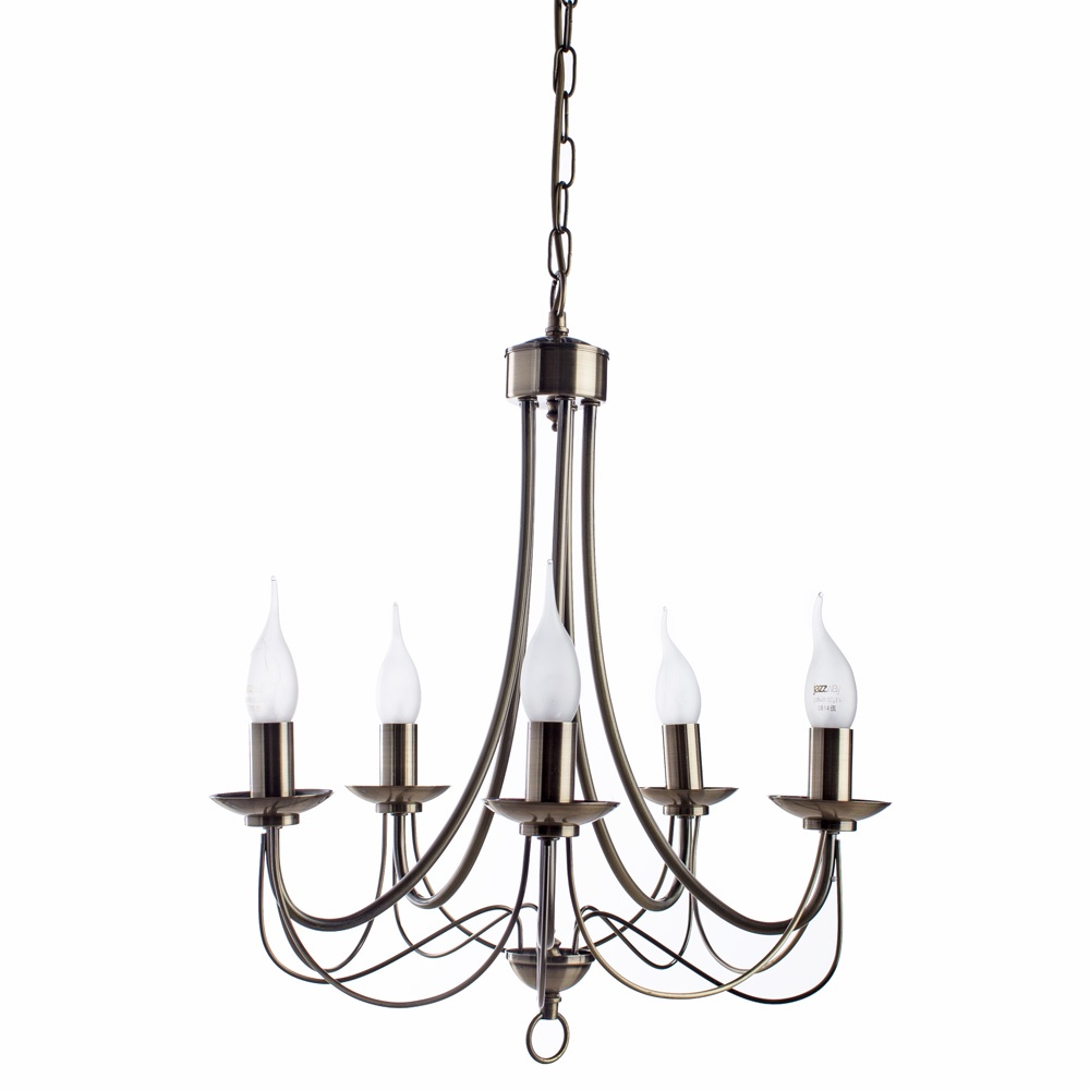 Подвесной светильник Arte Lamp A6300LM-5AB, бронза arte lamp подвесная люстра arte lamp maypole a6300lm 5wg