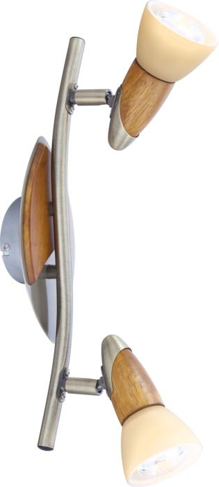 Настенно-потолочный светильник Globo New 5443-2, бронза светильник спот globo lord iii 5443 3