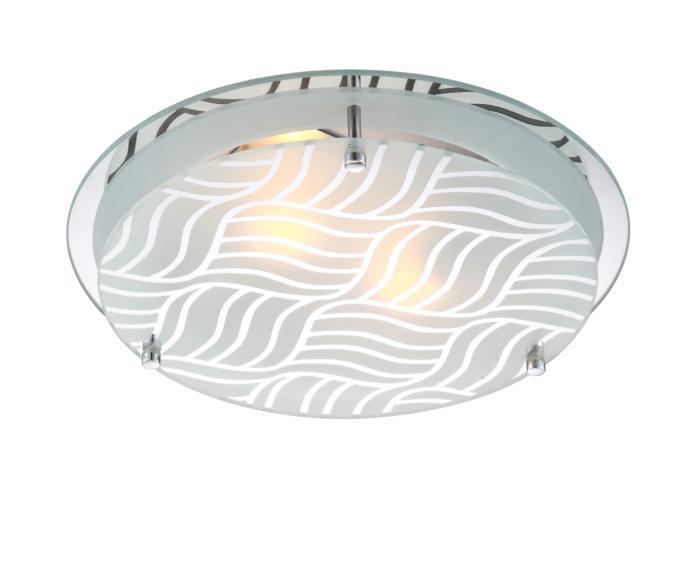 Настенно-потолочный светильник Globo New 48160-2, серый металлик потолочный светильник globo marie i 48161 2