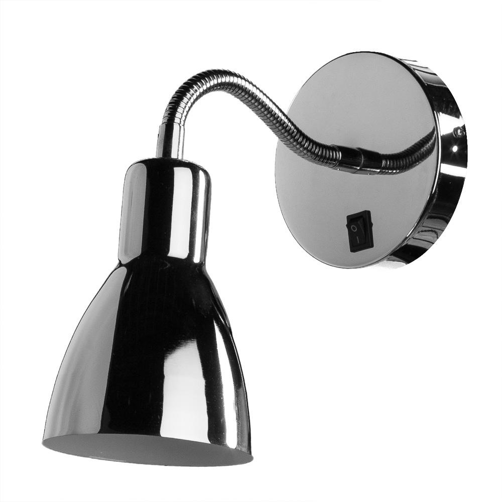 Бра Arte Lamp A1408AP-1CC, E14, 40 Вт