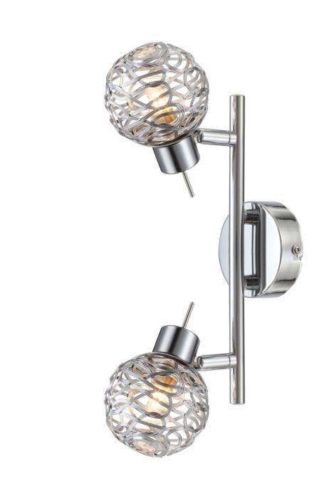 цена на Настенно-потолочный светильник Globo 56625-2, G9, 33 Вт