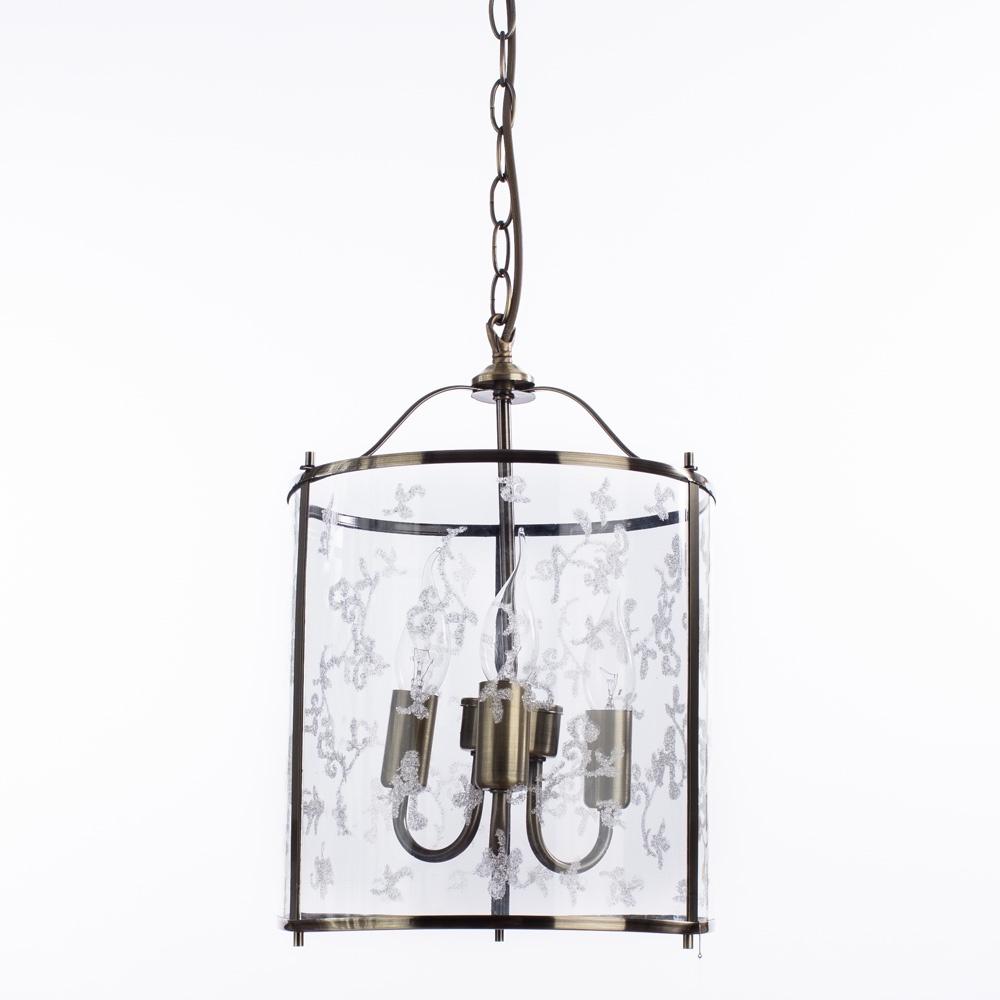 Подвесной светильник Arte Lamp A8286SP-3AB, E14, 60 Вт
