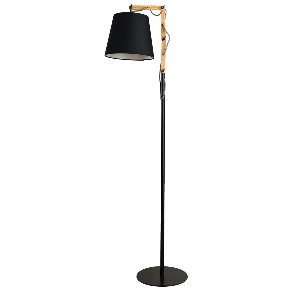 цена на Напольный светильник Arte Lamp A5700PN-1BK, E27, 60 Вт