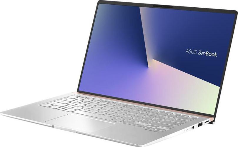 14 Ноутбук ASUS ZenBook 14 UX433FA 90NB0JR4-M04550, серебристый ноутбук asus zenbook ux330ua fc296t 90nb0cw1 m07970