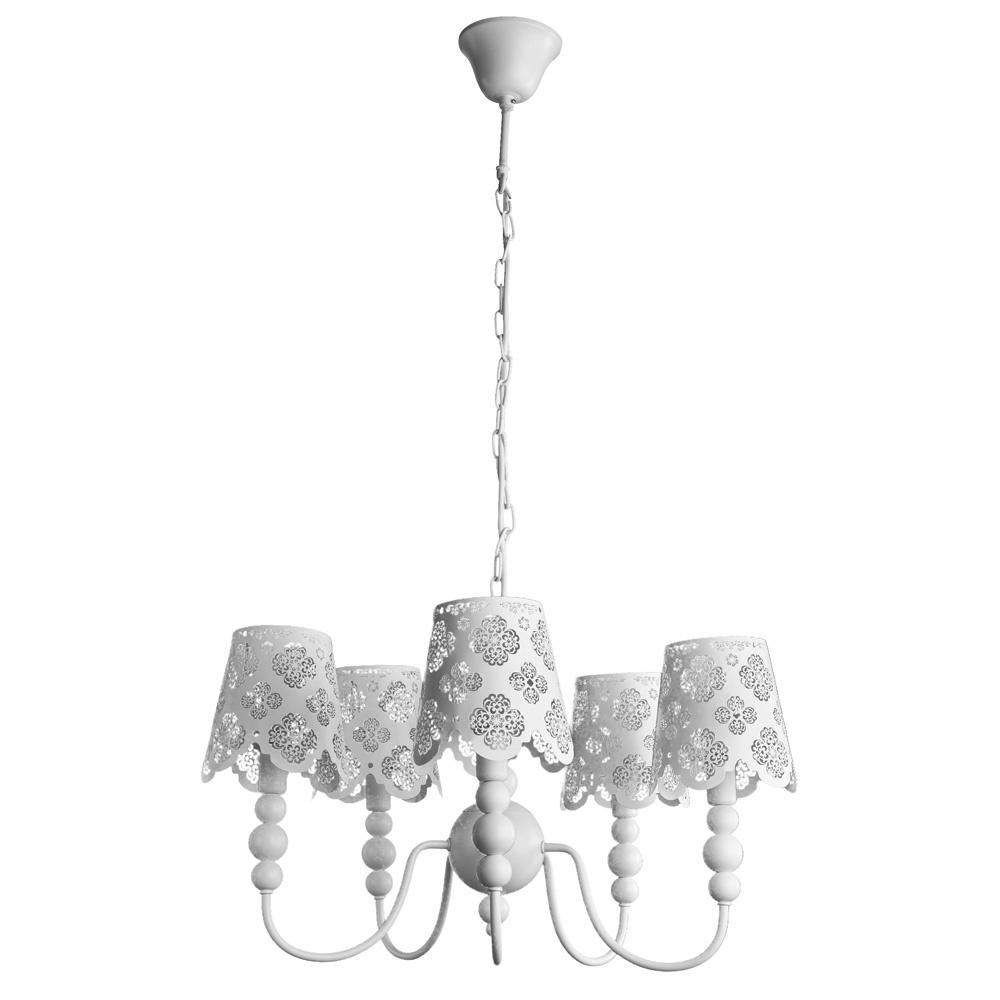 купить Подвесной светильник Arte Lamp A2030LM-5WA, белый по цене 11680 рублей