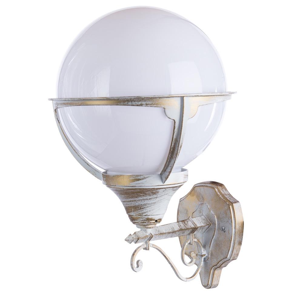 Уличный светильник Arte Lamp A1491AL-1WG, E27 уличный светильник arte lamp monaco a1494fn 1wg