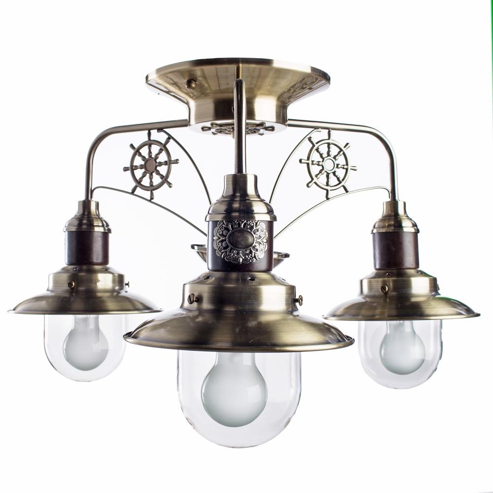 Потолочный светильник Arte Lamp A4524PL-3AB, E27, 60 Вт цена 2017