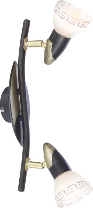 Настенно-потолочный светильник Globo New 5449-2, бронза