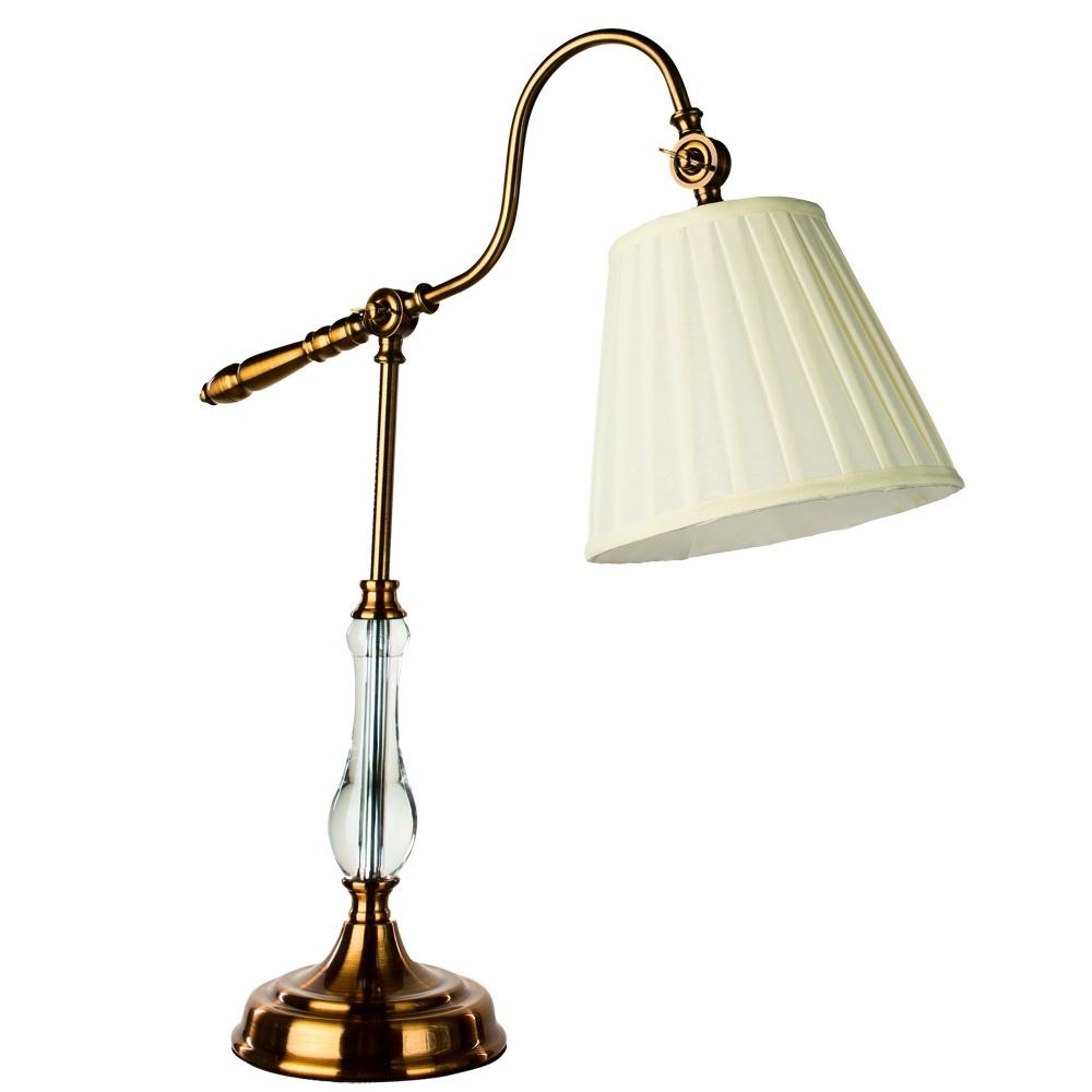 Настольный светильник Arte Lamp A1509LT-1PB, медь цена