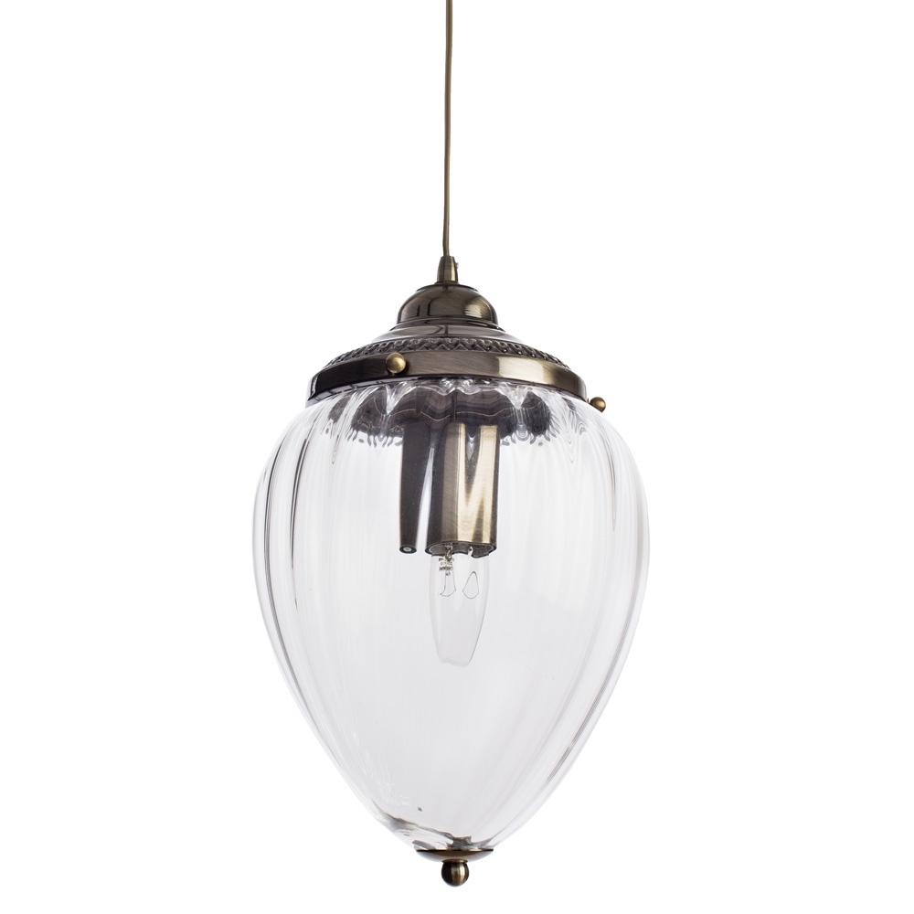 Подвесной светильник Arte Lamp A1091SP-1AB, бронза