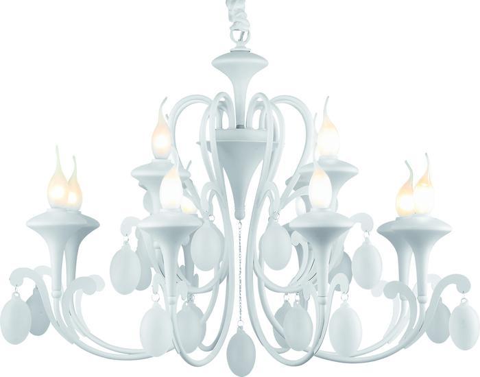 Подвесной светильник Arte Lamp A3239LM-12WH, белый подвесная люстра arte lamp montmartre a3239lm 12wh
