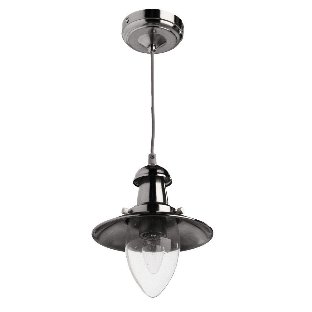 Подвесной светильник Arte Lamp A5518SP-1SS, серебристый подвесной светильник arte lamp ufo a1260sp 1ss