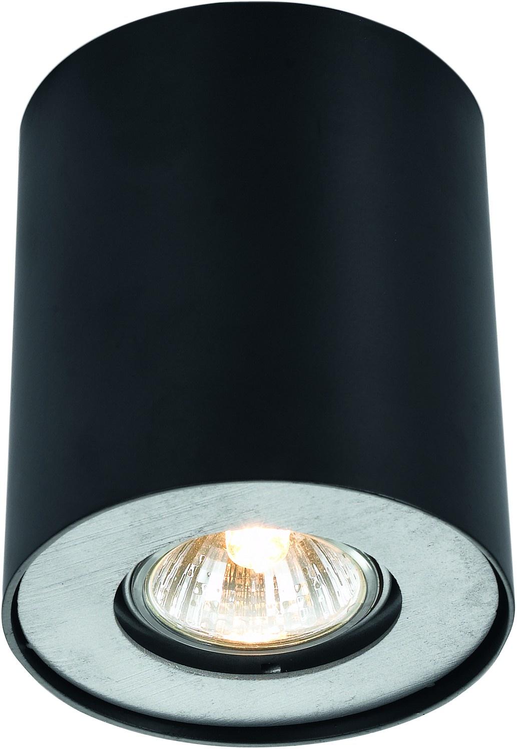 Встраиваемый светильник Arte Lamp A5633PL-1BK, GU10, 50 Вт