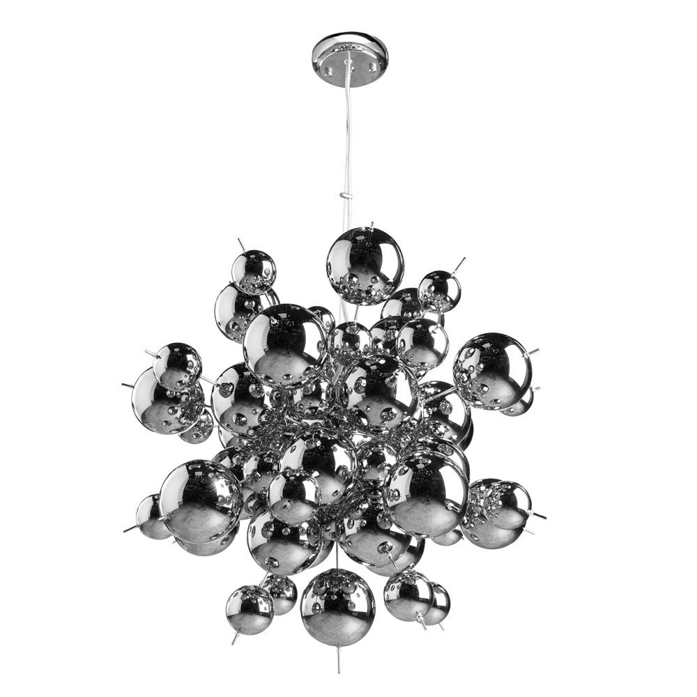 Подвесной светильник Arte Lamp A8313SP-9CC, серый металлик все цены
